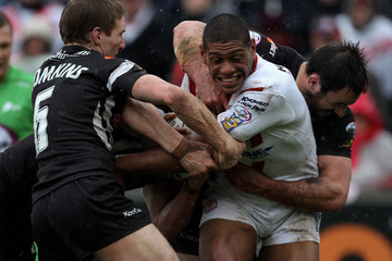 Phil Bailey St. Helens v Wigan Warriors
