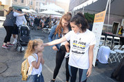 Lucy Hale, JoAnna Garcia Swisher and Lucy Hale attend St.Jude Walk/Run Hosted By Lucy Hale at Paramount Studios on September 22, 2018 in Hollywood, California.