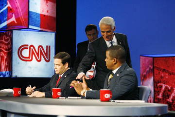 Kendrick Meek St. Petersburg Times/CNN Florida Senate Debate