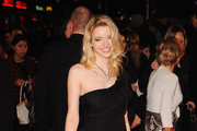 Actress Talulah Riley attends the World premiere of 'St Trinian's 2: The Legend of Fritton's Gold' at the Empire Leicester Square on December 9, 2009 in London, England.