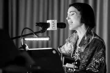 St. Vincent St. Vincent Performs For SiriusXM At The Village Studio in Los Angeles