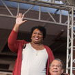 Stacey Abrams Democratic Gubernatorial Nominee Stacey Abrams Leads A March To The Polls In Atlanta