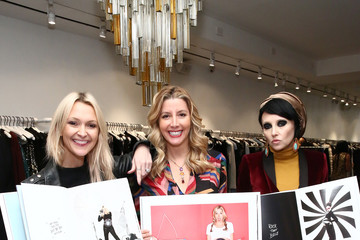Stacey Bendet Sara Blakely and Alice + Olivia Celebrate the Launch of 'The Belly Art Project'