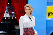 Stacey Solomon Launches the Nationwide 'Sing' Karaoke Bus Tour in Aid of Chickenshed
