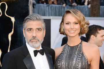 Stacy Keibler George Clooney Red Carpet Arrivals at the Oscars