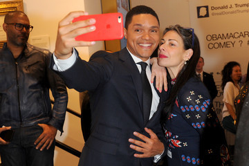Stacy London Comedy Central's 'The Daily Show' Presents: The Donald J. Trump Presidential Twitter Library Opening Reception