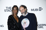 "Kiki Layne and Luca Guadagnino attend the launch of Luca Guadagnino's ""The Staggering Girl"", streaming worldwide on MUBI from February 15, 2020 at Relais Christine and Christine Cinema Club on January 21, 2020 in Paris, France."