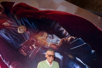"Stan Lee Premiere Of Disney And Marvel Studios' ""Doctor Strange"" - Red Carpet"
