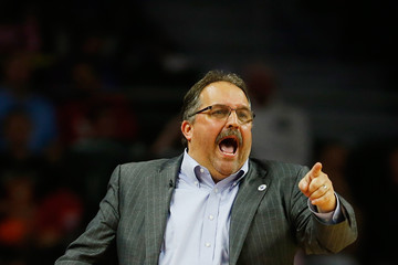 Stan Van Gundy Cleveland Cavaliers v Detroit Pistons - Game Three