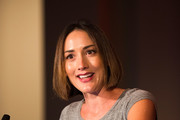 """Bree Turner, Stand Up To Cancer Ambassador speaks during the launch of the Stand Up To Cancer """"Cancer Interception"""" Initiative, announcing four new research teams with the Lustgarten Foundation, LUNGevity Foundation, and the American Lung Association with the American Association for Cancer Research on October 26, 2017 in Philadelphia, Pennsylvania."""