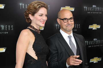 Stanley Tucci 'Transformers: Age of Extinction' Premieres in NYC
