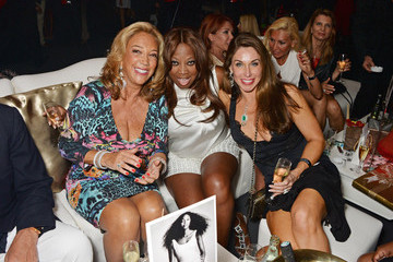 Star Jones Denise Rich Naomi Campbell's Birthday Party At The Billionaire's Club With BringBackOurGirls