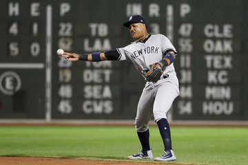 Starlin Castro New York Yankees v Boston Red Sox - Game Two