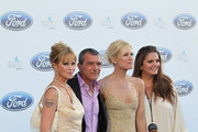 Melanie Griffith, Antonio Banderas, Valeria Mazza and Sandra Garcia-Sanjuan attends the 4th annual Starlite Charity Gala on August 10, 2013 in Marbella, Spain.