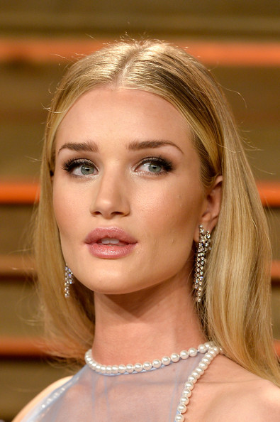 Stars at the Vanity Fair Oscar Rosie Huntington Whiteley