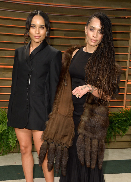 Lisa Bonet Zoe Kravitz Celebrity Look Alike Moms