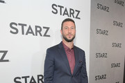Pablo Schreiber attends the Starz 2019 Winter TCA Panel & All-Star After Party on February 12, 2019 in Los Angeles, California.