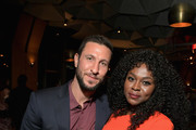 Pablo Schreiber and Yetide Badaki attend the Starz 2019 Winter TCA Panel & All-Star After Party on February 12, 2019 in Los Angeles, California.