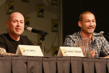 "Andy Whitfield Starz Entertainment ""Sparticus"" Panel"