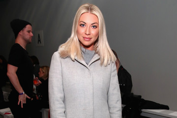 Stassi Schroeder Erin Fetherston - Front Row - February 2017 - New York Fashion Week: The Shows