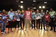 (L-R) Bun B, William Jackson III, Tyler Crispen,Angela Rummans, PJ Tucker,Chris Paul,Mookie Betts,Aric Almirola,Gazmine Mason and Terrell Owens during the 2019 State Farm Chris Paul PBA Celebrity Invitational on January 17, 2019 in Houston, Texas.