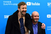 """Chris O'Dowd and Nick Hornby attend """"State Of The Union"""" Red Carpet at The Ray on January 28, 2019 in Park City, Utah."""