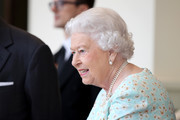 Queen Elizabeth II is seen during a State visit by the King and Queen of Spain on July 14, 2017 in London, England.  This is the first state visit by the current King Felipe and Queen Letizia, the last being in 1986 with King Juan Carlos and Queen Sofia.