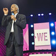 Stedman Graham Shay Mitchell Hosts WE Day Illinois to Celebrate Young People Changing the World
