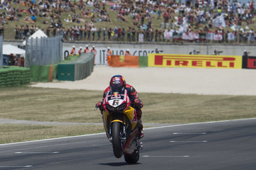 Stefan Bradl FIM Superbike World Championship - Race 2
