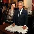 Stefania Girombelli Giancarlo Giammetti Signs Copies of His New Book
