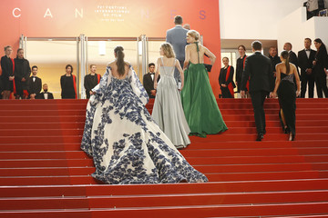 Stefanie Giesinger 'Too Old To Die Young' Red Carpet - The 72nd Annual Cannes Film Festival