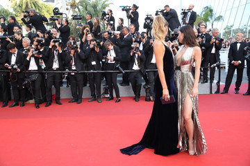 Stefanie Giesinger 'The Beguiled' Red Carpet Arrivals - The 70th Annual Cannes Film Festival