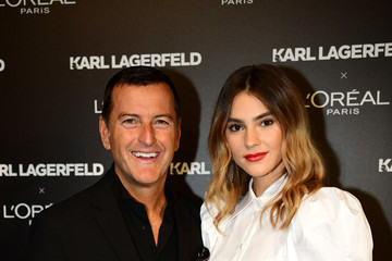 Stefanie Giesinger karl Lagerfeld: Karl Lagerfeld X L'Oréal Paris Launch - Paris Fashion Week - Womenswear Spring Summer 2020