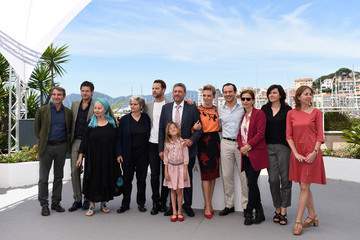 Stefano Accorsi Nicole Centanni 'Fortunata' Photocall - The 70th Annual Cannes Film Festival