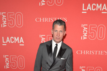Stefano Tonchi LACMA 50th Anniversary Gala Sponsored By Christies - Red Carpet
