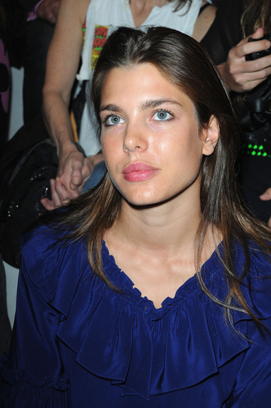 Charlotte Casiraghi Charlotte Casiraghi attends the Stella McCartney Pret a Porter show as part of the Paris Womenswear Fashion Week Spring/Summer 2010 at Palais De Tokyo on October 5, 2009 in Paris, France.
