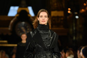 Natalia Vodianova walks the runway during the Stella McCartney show as part of the Paris Fashion Week Womenswear Fall/Winter 2019/2020 on March 04, 2019 in Paris, France.