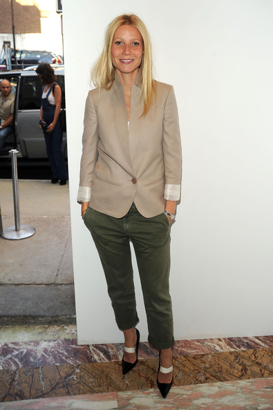 Actress Gwyneth Paltrow attends Stella McCartney - Spring 2011 Presentation at Gavin Brown's Enterprise on June 8, 2010 in New York City.
