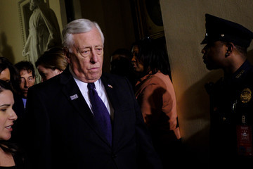 Steny Hoyer Trump Addresses the Nation in His First State of the Union Address to Joint Session of Congress