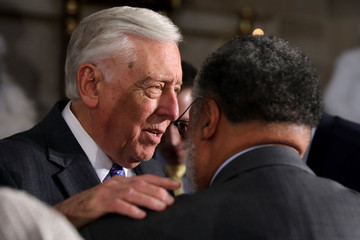 Steny Hoyer 50th Anniversary Of MLK Jr.'s Assassination Commemorated At U.S. Capitol