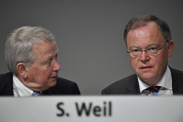 Stephan Weil Volkswagen Holds General Shareholders Meeting