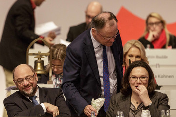 Stephan Weil Social Democrats (SPD) Hold Federal Party Congress