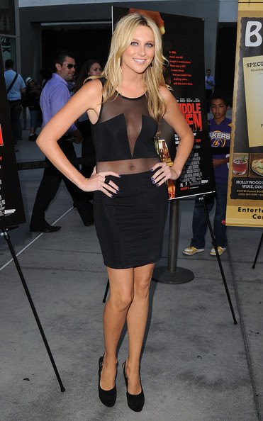 "Stephanie Pratt Actress Stephanie Pratt attends the Los Angeles premiere of ""Middlemen"" held at the ArcLight Cinemas on August 5, 2010 in Hollywood, California."