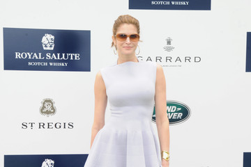 Stephanie Seymour Celebs at the Sentebale Royal Salute Polo Cup — Part 5