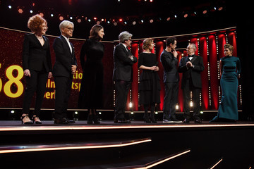Stephanie Zacharek Chema Prado Opening Ceremony - 68th Berlinale International Film Festival