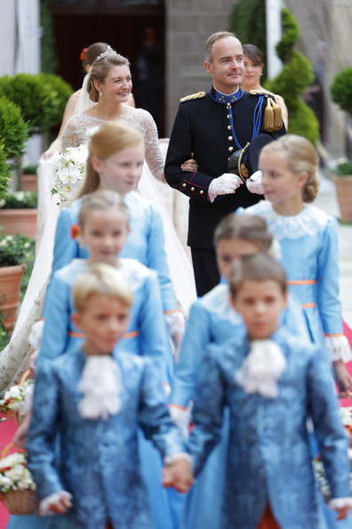 The Wedding Of Prince Guillaume Of Luxembourg & Stephanie de Lannoy - Official Ceremony [people,child,event,fun,tradition,grandparent,family,toddler,smile,guillaume of luxembourg stephanie de lannoy - official ceremony,stephanie de lannoy,jehan de lannoy,prince,belgian countess,handout image,archive,luxembourg,wedding,wedding ceremony]