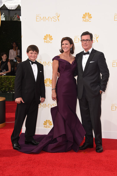 Stephen Colbert and Evelyn McGee Colbert Photos Photos - Arrivals at