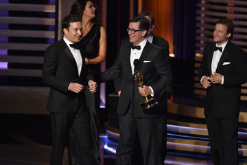 Stephen Colbert Jimmy Fallon 66th Annual Primetime Emmy Awards Show