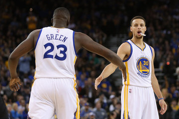Stephen Curry Draymond Green Los Angeles Clippers v Golden State Warriors