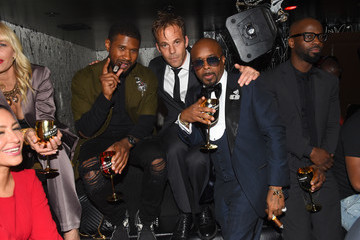 Stephen Dorff Jermaine Dupri Celebrates So So Def 25 and Songwriters Hall Of Fame Induction At Gold Bar Toasted By Moet & Chandon